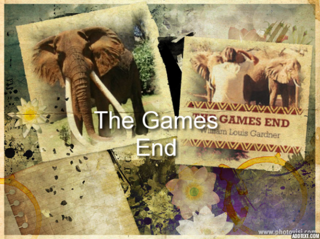 The Games End book about elephants